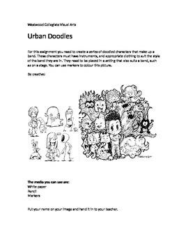 Urban Doodles- Special Needs