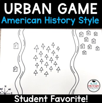 Urban Game - AMERICAN HISTORY STYLE - leading to the growth of the U.S.
