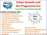 Urban Growth and the Progressive Era PowerPoint and Notes Bundle