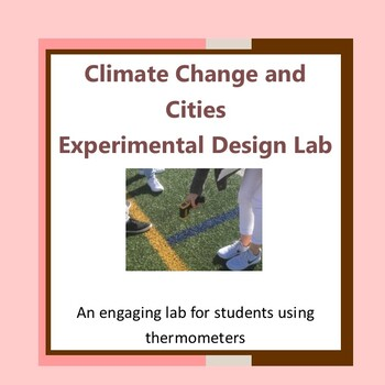Climate Change and Cities Experimental Design Lab-Distance Learning possible