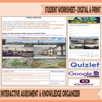 Urban Land Use and Models