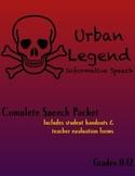 Urban Legend Informative Speech
