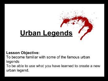 Urban Legends Lesson PPT