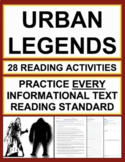 Urban Legends Nonfiction Reading Passages & Questions