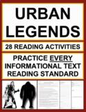 Urban Legends Nonfiction Reading Passages & Questions