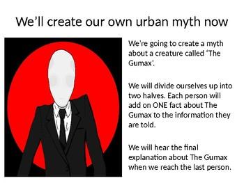 Urban Myths: Gothic Writing
