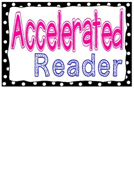 Urban Neon Accelerated Reader Chart