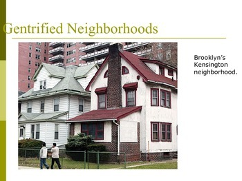 Urban Revitalization In the US- AP Human Geography