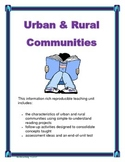 Urban & Rural Communities Canadian Social Studies