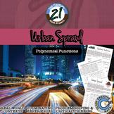Urban Sprawl -- Polynomial Modeling - 21st Century Math Project