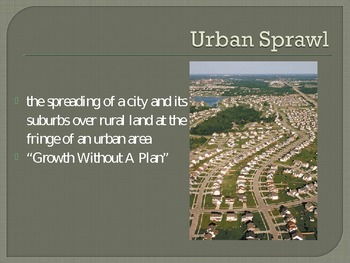 Urban Sprawl PowerPoint
