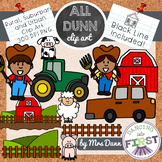 Urban, Suburban and Rural Clip Art