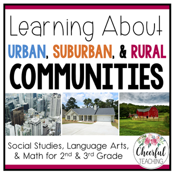 Urban, Suburban, and Rural Communities with PowerPoint