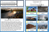 Urban and Rural Communities Report Pages Activity sheets  35 Pages