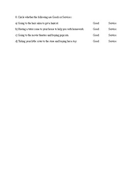 Urban and Rural Communities Test - Grade 3