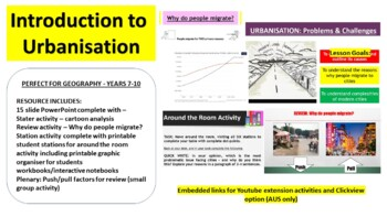 Urbanisation: Problems & Challenges