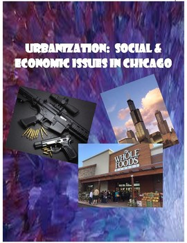 Urbanization:  Chicago's Challenges Article Jigsaw & Discussion Activity
