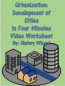 Urbanization: Development of Cities in Four Minutes Video