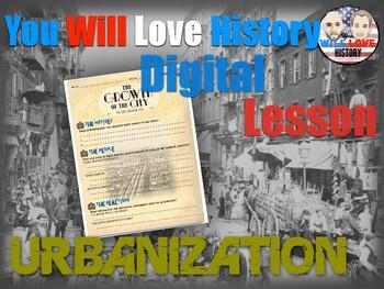 Urbanization: Growth of the City Digital Activity