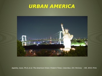 Urbanization & The Gilded Age
