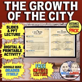 Urbanization: The Growth of Cities Bundle