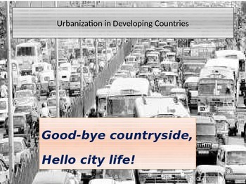 Urbanization in Developing Countries