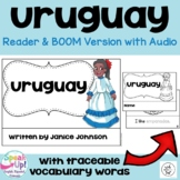 Uruguay Reader {English Version} & Vocab pages ~ Simplified for Young Learners