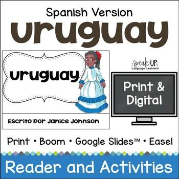 Uruguay Reader {en español} & Vocab pages ~ Simplified for Language Learners