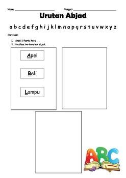 Urutan abjad (Bahasa Indonesia Alphabetizing)