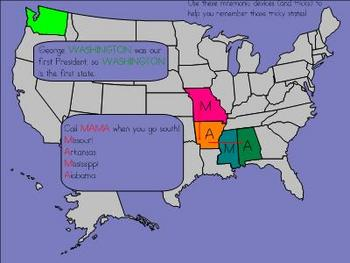Us Geography - 50 States