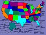 Us Geography - State Capitals