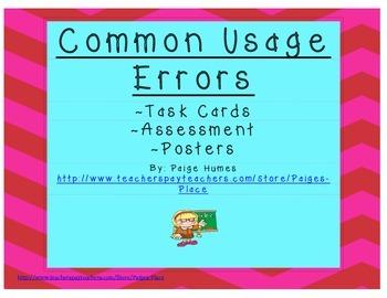 Usage Errors Pack