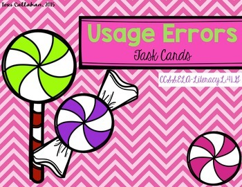 Usage Errors Task Cards