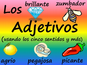 Usando Adjetivos - Using Spanish Adjectives