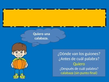 Usando el guión largo en español
