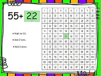 Use 120 Chart to Add or Subtract