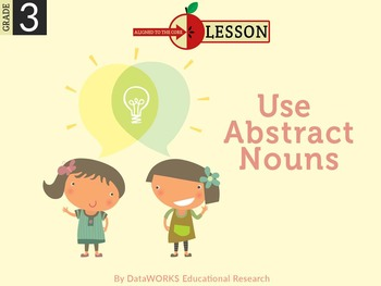 Use Abstract Nouns