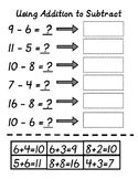 Use Addition to Subtract