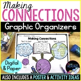 Making Connections Graphic Organizers, Paper & Digital Rea