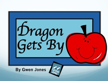 Dragon Gets By Vocabulary PPT and Companion Page