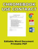 Use Contract for Chromebooks