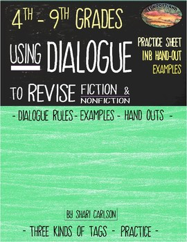 Use Dialogue to Revise a Narrative
