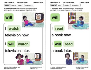 Use Future Tense: Lesson 8, Book 20 (Newitt Grammar Series)