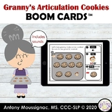 Use Granny's Articulation Cookies S-Blends Boom Cards™ deck