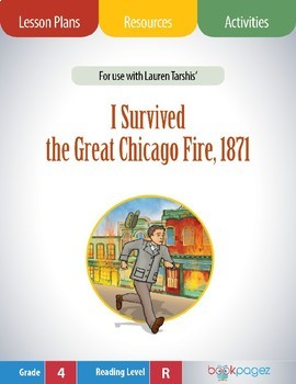Use I Survived the Great Chicago Fire, 1871 Book Club - Sequence of Events
