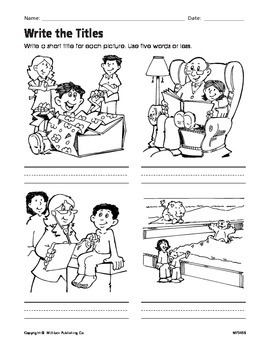 Use Illustrations and Words (CCSS RL.2.7)
