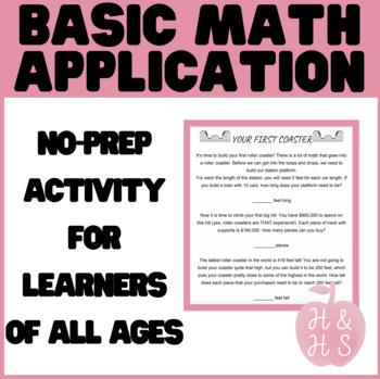 Use Math Skills To Build a Theme Park!