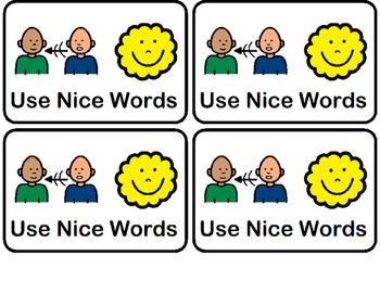 Use Nice Words