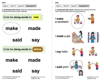 Use Past Tense: Lesson 5, Book 20 (Newitt Grammar Series)