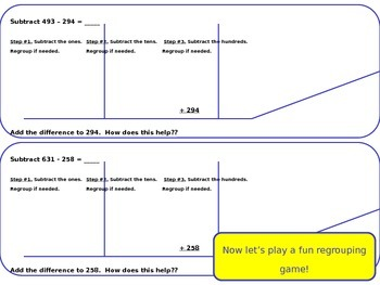 Use Place Value to Subtract